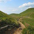 Bieszczady- zejście z Tarnicy #Bieszczady #góry #Tarnica
