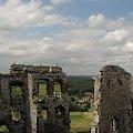 Zamek Ogrodzieniec #Ogrodzieniec #zamek #zamki #ruiny #zabytki #historia #Polska #widok #krajobraz #chmury #jura #krakowsko #częstochowska #lezajsktm