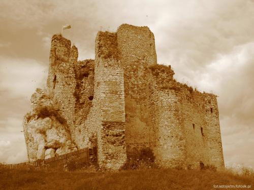 Zamek rycerski w Mirowie - Jura krakowsko-częstochowska