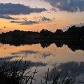 #niebo #zalew #wieczór #zmierzch