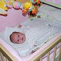 Poznań 2009-02-07 Ewelina ma już 5 tygodni #Ludzie #Rodzina #Dzieci #Wnuczka