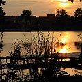 #jezioro #kładka #ZachódSłońca #Lubięcin