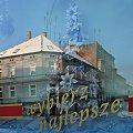 zima w sklepowej witrynie :) #wystawa #zima #Lubsko #odbicie #szyba #grudzień #choinka