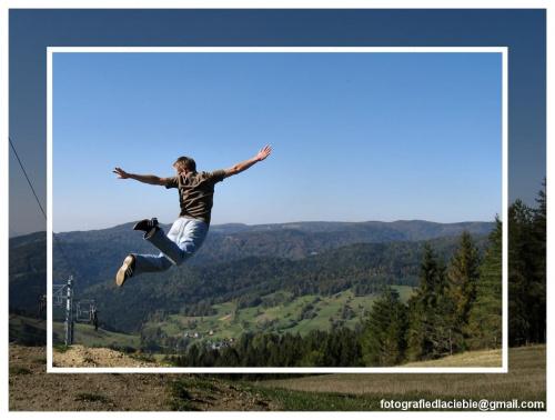 Krynica - Wierchomla 2007 #Krynica #Wierchomla #góry #widoki #panorama #drzewa #natura #jesień