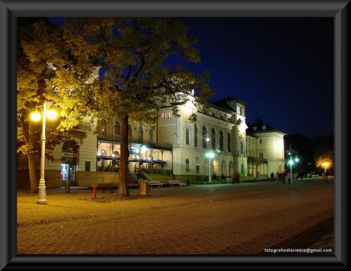 Krynica #Krynica #Wierchomla #światło #miasto #noc