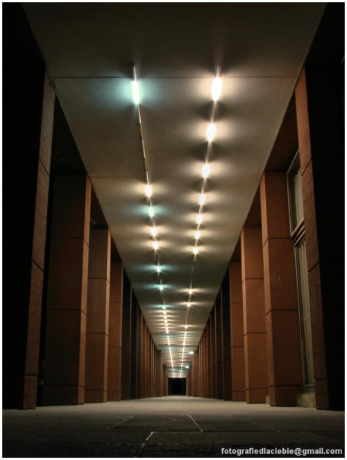 Aleja świateł :) #Krynica #Wierchomla #światło #miasto #noc