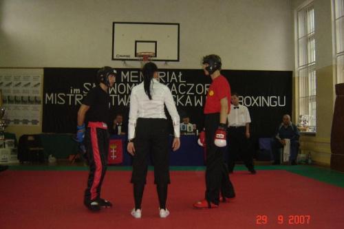 Turniej Grandchampion, po lewej Rafał Karcz