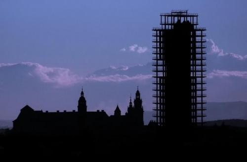 Duma i wstyd Krakowa - czyli Wawel i Szkieletor na wspólnym zdjęciu #Wawel #Kraków
